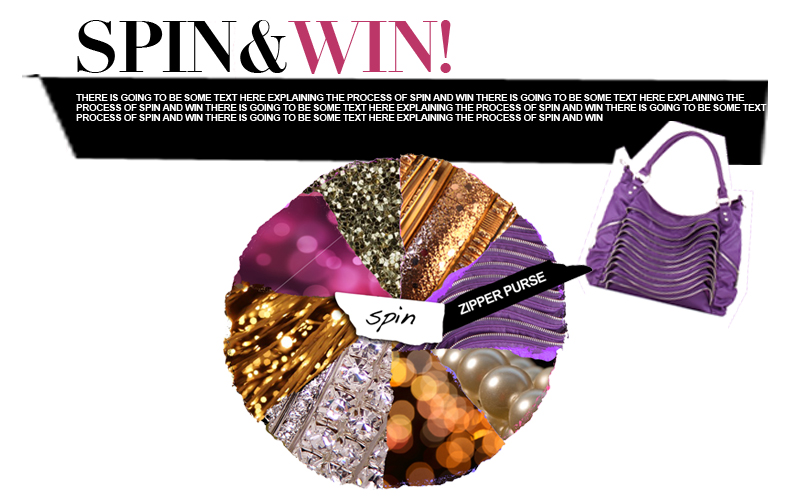 Digital Sweepstakes: Spin & Win