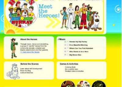 Web Strategy: Heroes Hip Hip Hurray
